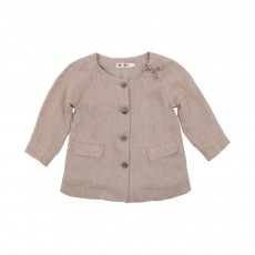 Manteau Bubble Naturel