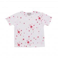 T-shirt Etoiles Rouge