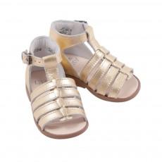 Sandales Hosmose  Bébé Doré
