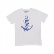 T-shirt Anchor Blanc