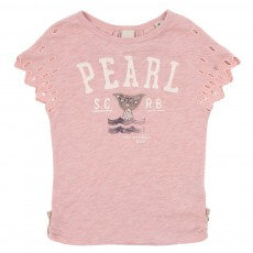 T-shirt Pearl Rose pâle