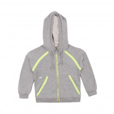 Sweat Capuche Gris chiné