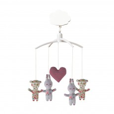 Mobiles musical Ours et Lapins