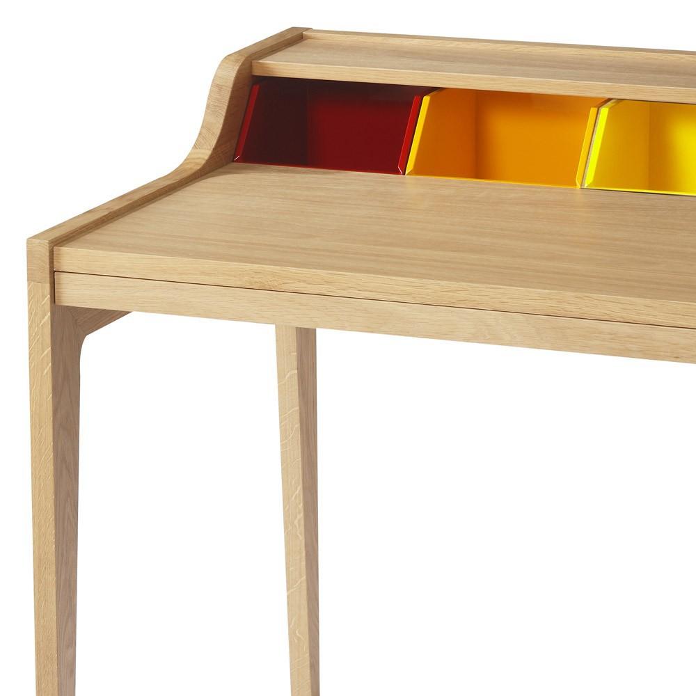 bureau hansen family multicolore sentou mobilier smallable. Black Bedroom Furniture Sets. Home Design Ideas