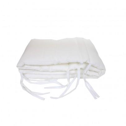 tour de lit lin blanc lab univers b b smallable. Black Bedroom Furniture Sets. Home Design Ideas