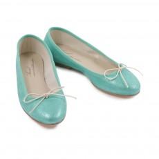 Ballerines Scala Vert