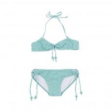 Maillot de bain Perles Etoiles 2 pièces Vert