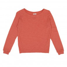 T-shirt Tesson Manches Longues Orange