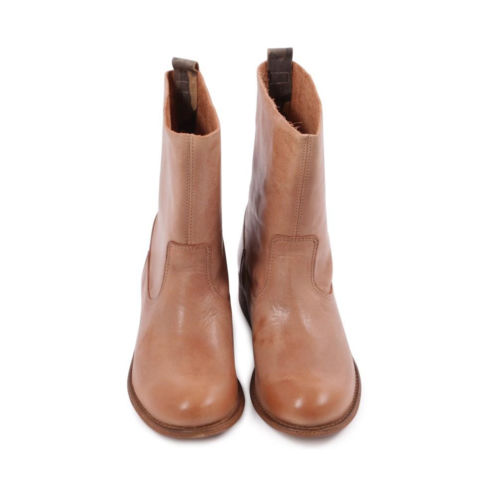 bottines en cuir marron bensimon chaussures smallable. Black Bedroom Furniture Sets. Home Design Ideas