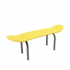 Banc skateboard - Jaune