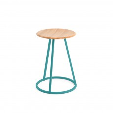 Tabouret Gustave Bleu turquoise