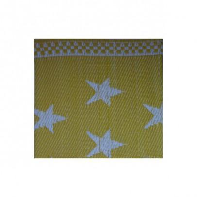 natte plastique toiles jaune et blanc csao d coration smallable. Black Bedroom Furniture Sets. Home Design Ideas