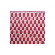 Natte plastique Vichy - Rouge et blanc