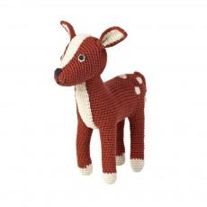 Doudou Bambi Brun roux