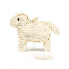 Boîte à musique mouton Blanc