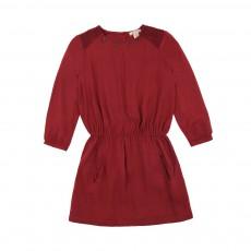 Robe Perles Cilka Rouge brique