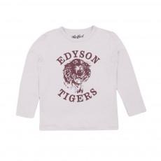T-shirt Edyson Tigers Blanc cassé