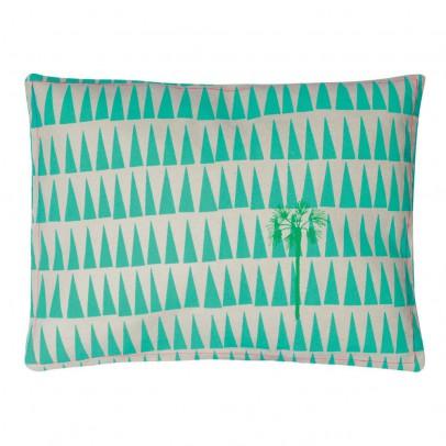 coussin brod palmier le fait main. Black Bedroom Furniture Sets. Home Design Ideas