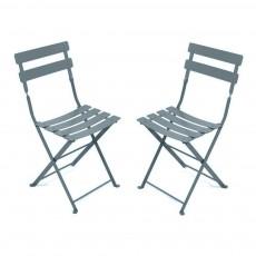 Lot de 2 chaises Tom Pouce Gris foncé