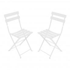 Lot de 2 chaises Tom Pouce Blanc