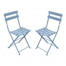 Lot de 2 chaises Tom Pouce Bleu ciel