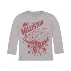 T-shirt Basket Keno Gris