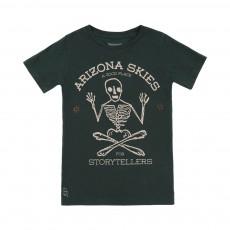 T-shirt Squelette Keny Vert foncé