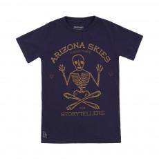 T-shirt Squelette Keny Bleu marine