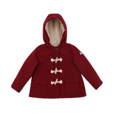 Duffle Coat Lolita Bordeaux