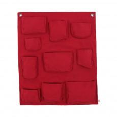 Pochette murale - Rouge