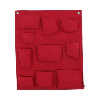 Pochette murale rouge numero 74 d coration smallable - Pochette murale de rangement ...