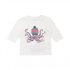 T-shirt  Méduse Blanc