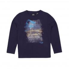 T-shirt Voiture Bleu indigo