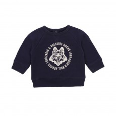 Sweat Loup Tommy Bleu marine