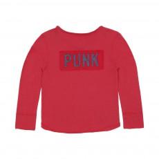 T-shirt Punk Rouge