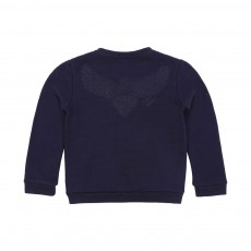 Sweat Teddy Aigle Turtle Bleu marine