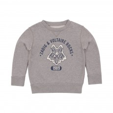 Sweat Loup Phantom Gris clair