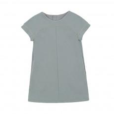 Robe Milano Zippée Bleu gris