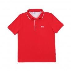 Polo Avec Liseré Rouge