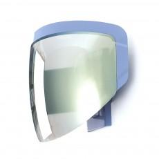 Lampe applique casque de moto Gris