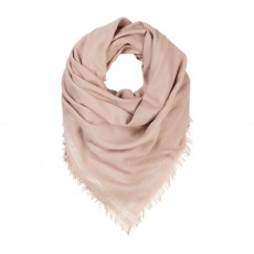 Foulard Franges Naturel