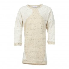 Robe Sweat Bicolore Boydrs Naturel