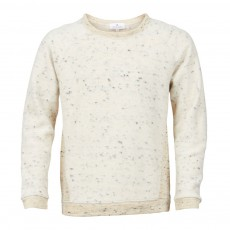 Sweat Bicolore Boysw Naturel