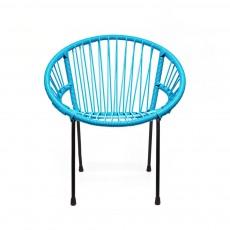 Fauteuil Tica petit modèle Bleu turquoise