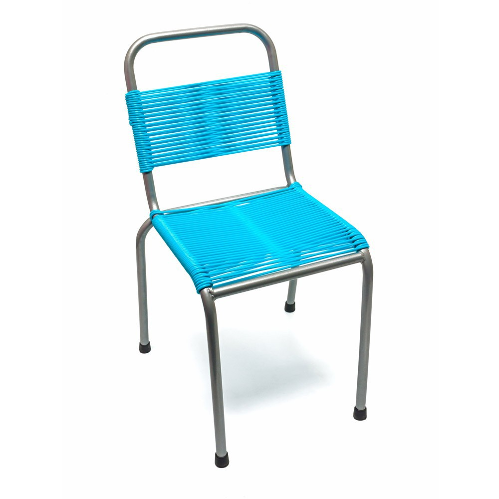 Chaise too cool for school bleu turquoise the rocking for Chaise bleu turquoise