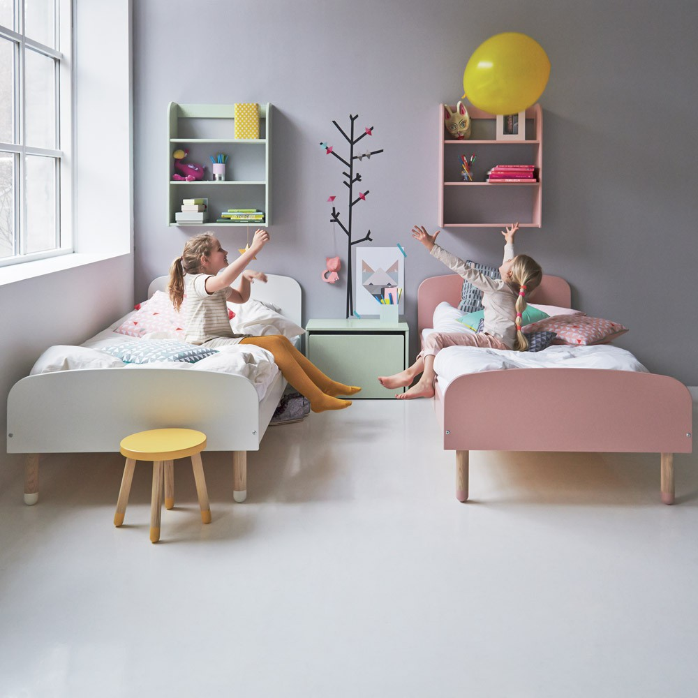 lit enfant 90x200 cm vert d 39 eau flexa play mobilier. Black Bedroom Furniture Sets. Home Design Ideas