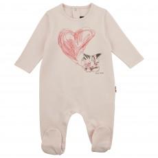 Pyjama Gwenola Bébé Rose pâle