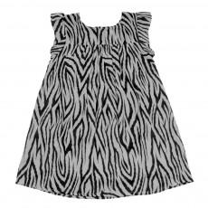 Robe Zebra Gris
