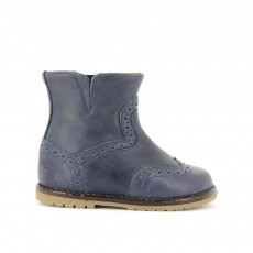 Boots Tic Tac Bleu marine
