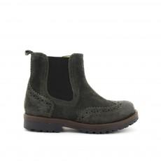 Boots Elastique-Zip Worky Gris foncé